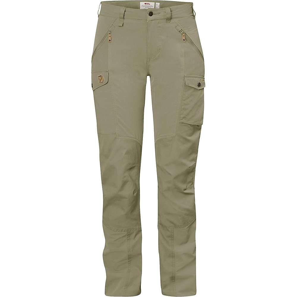 フェールラーベン Fjallraven レディース ハイキング・登山 ボトムス・パンツ【Nikka Curved Trousers】Savanna