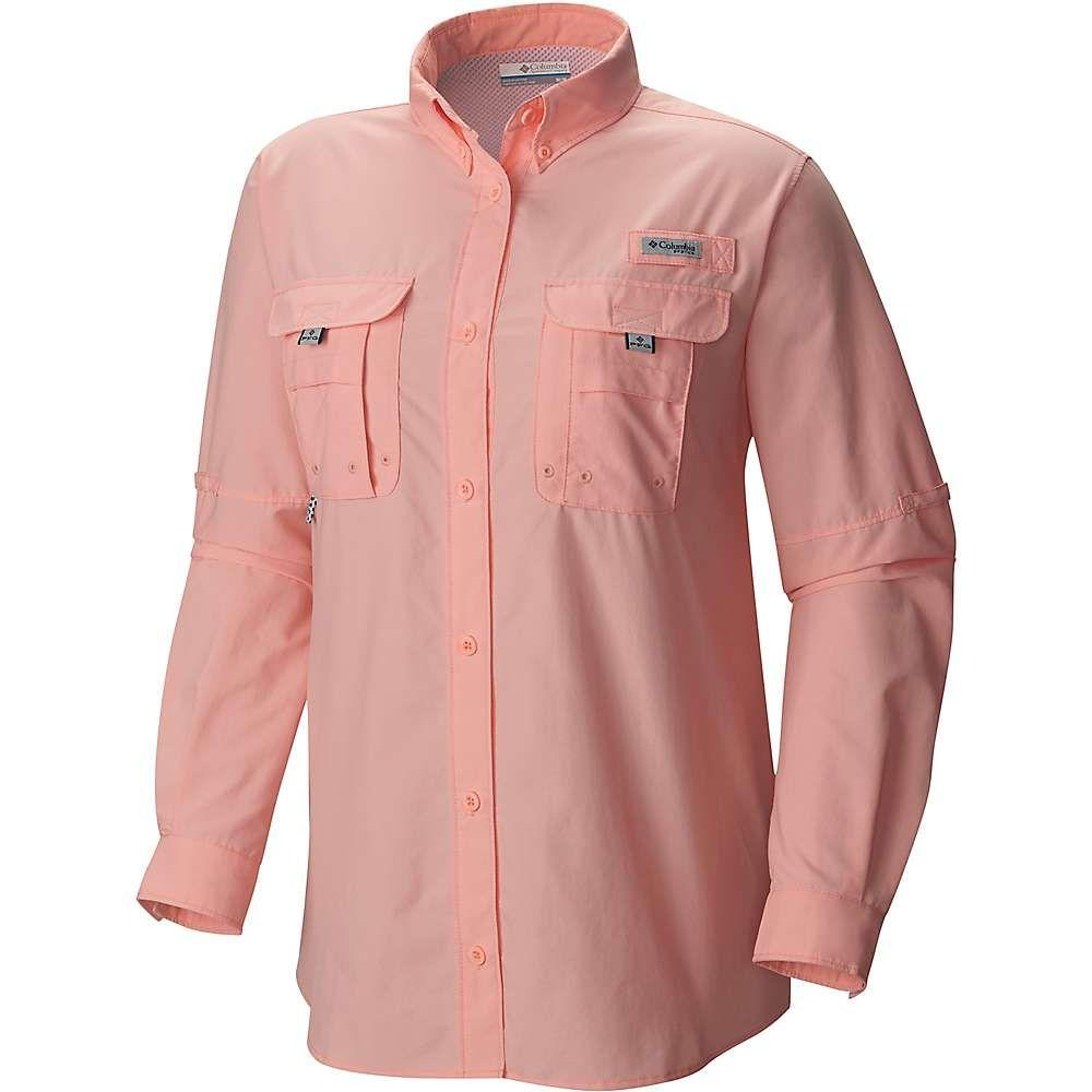 【日本産】 コロンビア Columbia LS レディース ハイキング・登山 トップス Columbia【Bahama レディース LS Shirt】Tiki Pink, mirco-shop:bcb84654 --- clftranspo.dominiotemporario.com