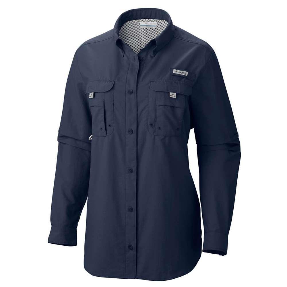 割引クーポン コロンビア LS Columbia レディース ハイキング・登山 トップス【Bahama コロンビア Columbia LS Shirt】Collegiate Navy, 新町:32c8842b --- konecti.dominiotemporario.com