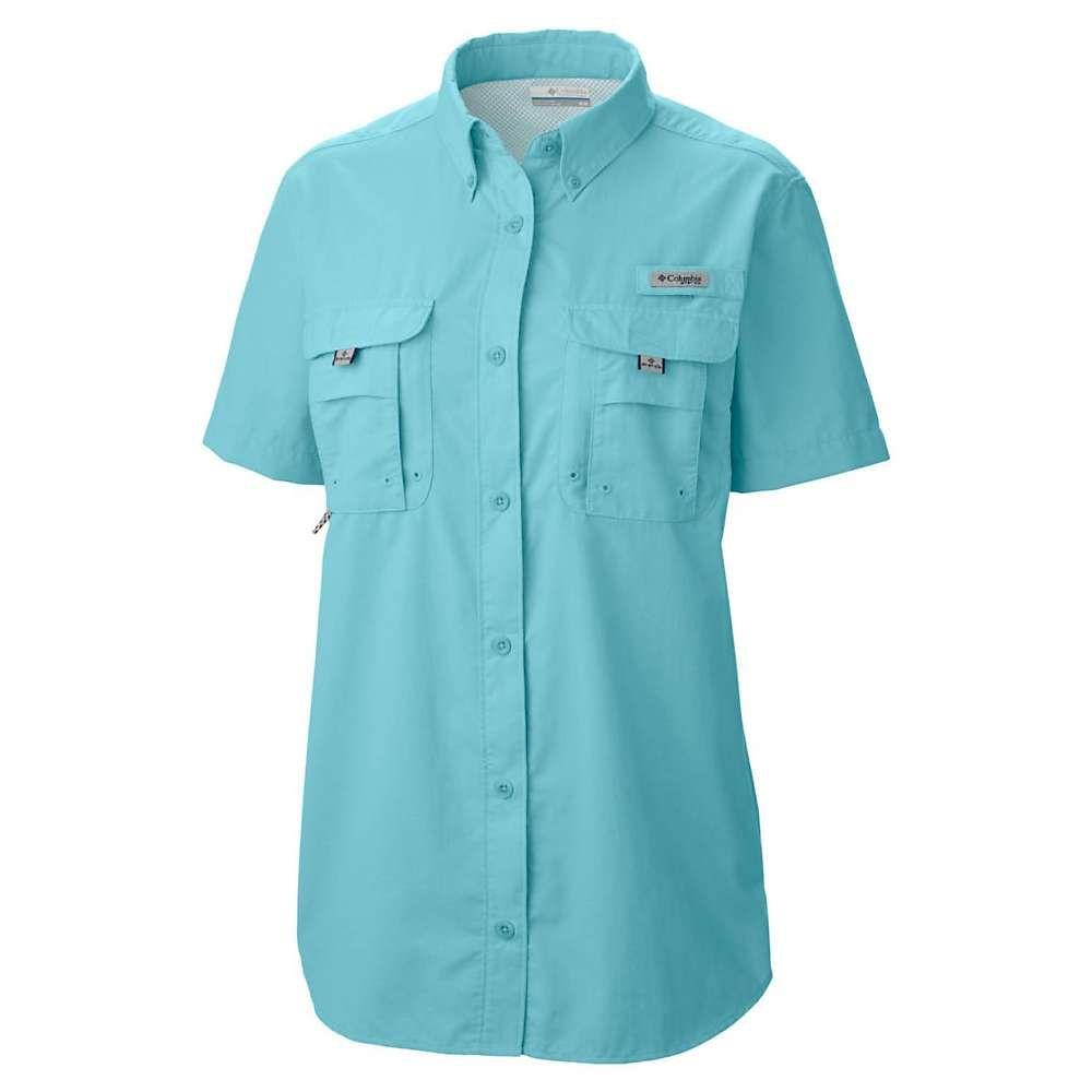 大人気新品 コロンビア Blue Columbia Columbia レディース ハイキング・登山 レディース トップス【Bahama SS Shirt】Clear Blue, 神棚の山丸:7b9a1510 --- canoncity.azurewebsites.net