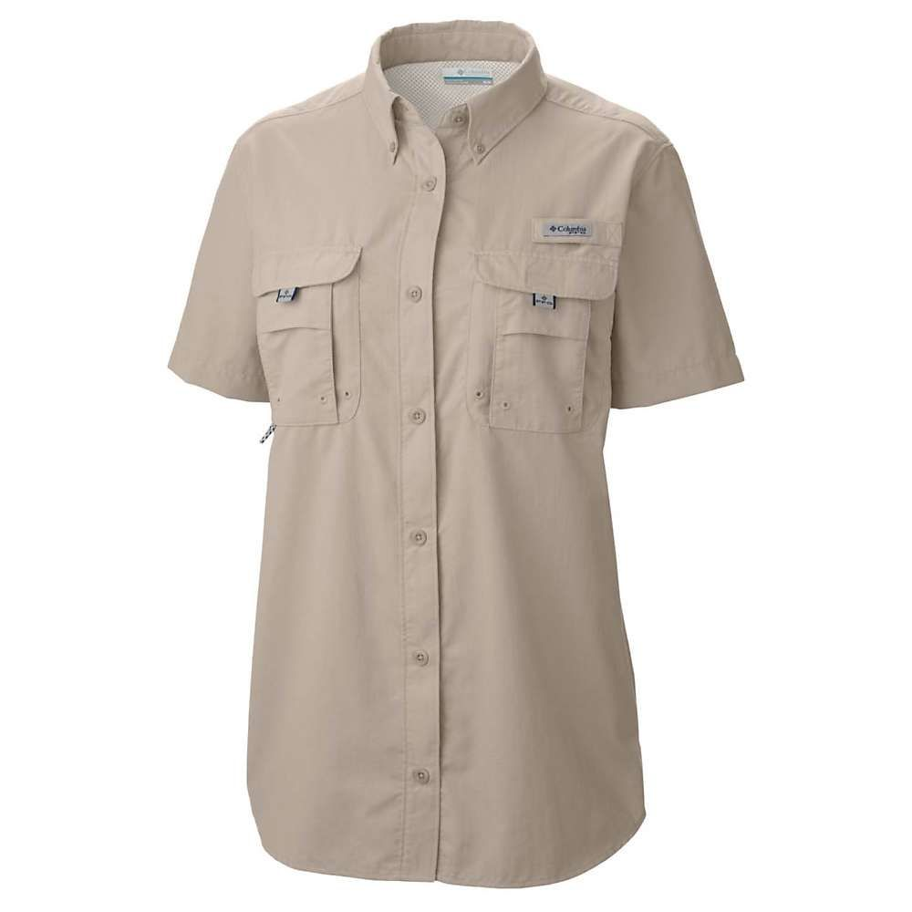 【安心発送】 コロンビア Columbia レディース コロンビア SS ハイキング・登山 トップス Columbia【Bahama SS Shirt】Fossil, 松岡町:d75be0ff --- clftranspo.dominiotemporario.com