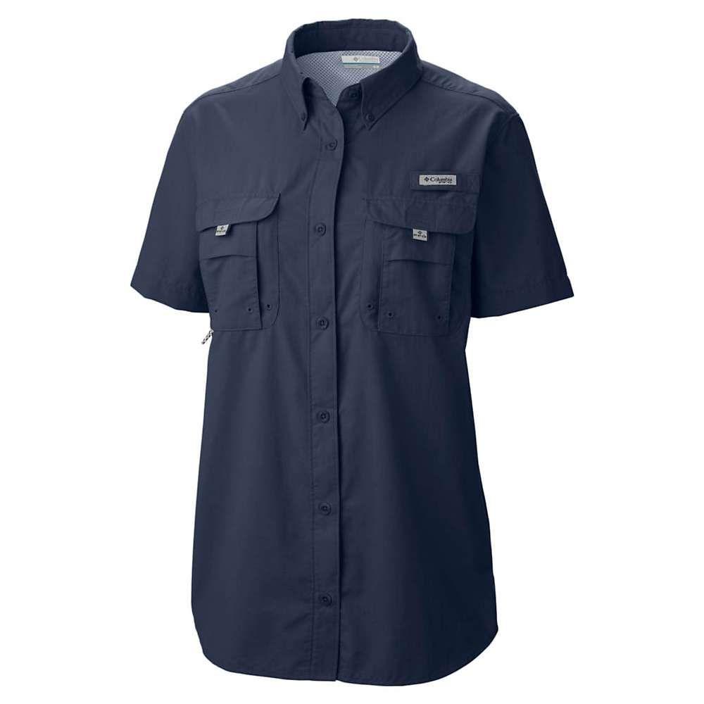 【海外 正規品】 コロンビア Columbia Navy レディース ハイキング・登山 コロンビア トップス【Bahama Columbia SS Shirt】Collegiate Navy, ミシマムラ:84aa0d0b --- bibliahebraica.com.br