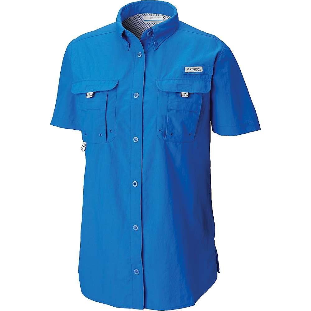 正規 コロンビア Columbia Shirt】Blue レディース ハイキング・登山 トップス【Bahama SS Columbia Shirt トップス【Bahama】Blue Macaw, 超安い品質:c69eca6d --- bibliahebraica.com.br