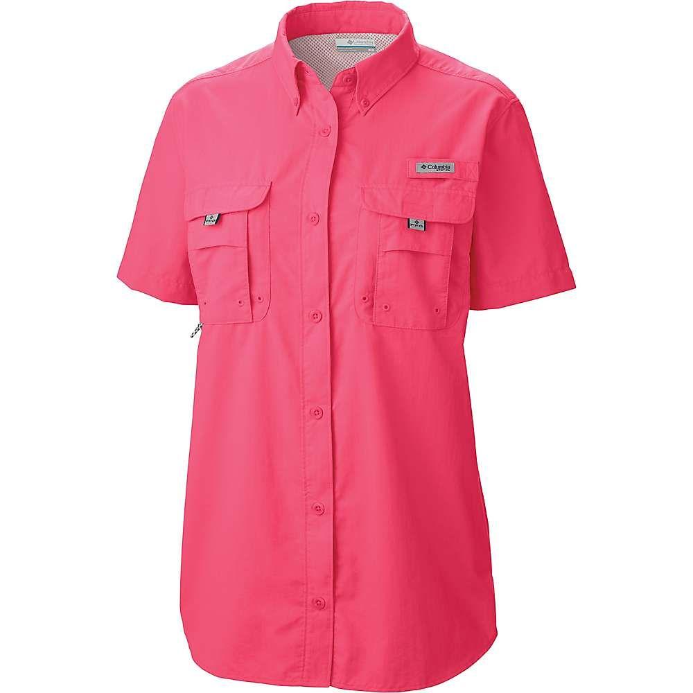 安い コロンビア Columbia レディース Columbia ハイキング・登山 Shirt】Bright トップス【Bahama コロンビア SS Shirt】Bright Geranium, フロアマット専門店 HOTFIELD:ee2c1746 --- bibliahebraica.com.br