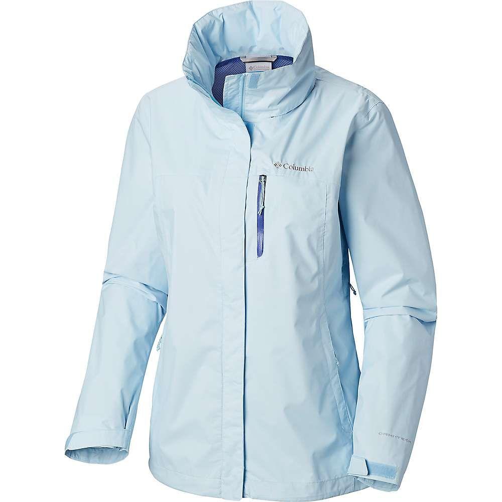 コロンビア Columbia レディース アウター レインコート【Pouration Jacket】Pale Blue