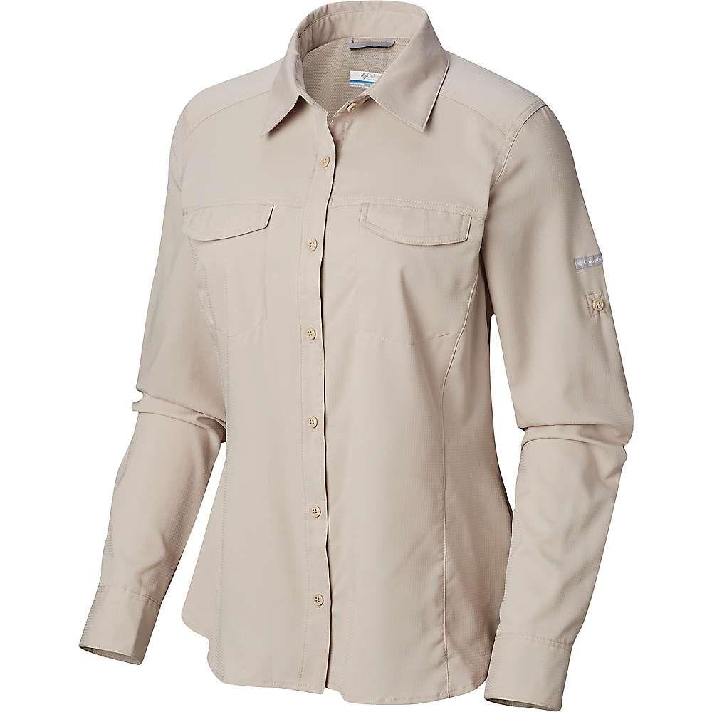 コロンビア Columbia レディース ハイキング・登山 トップス【Silver Ridge Lite Long Sleeve Shirt】Fossil
