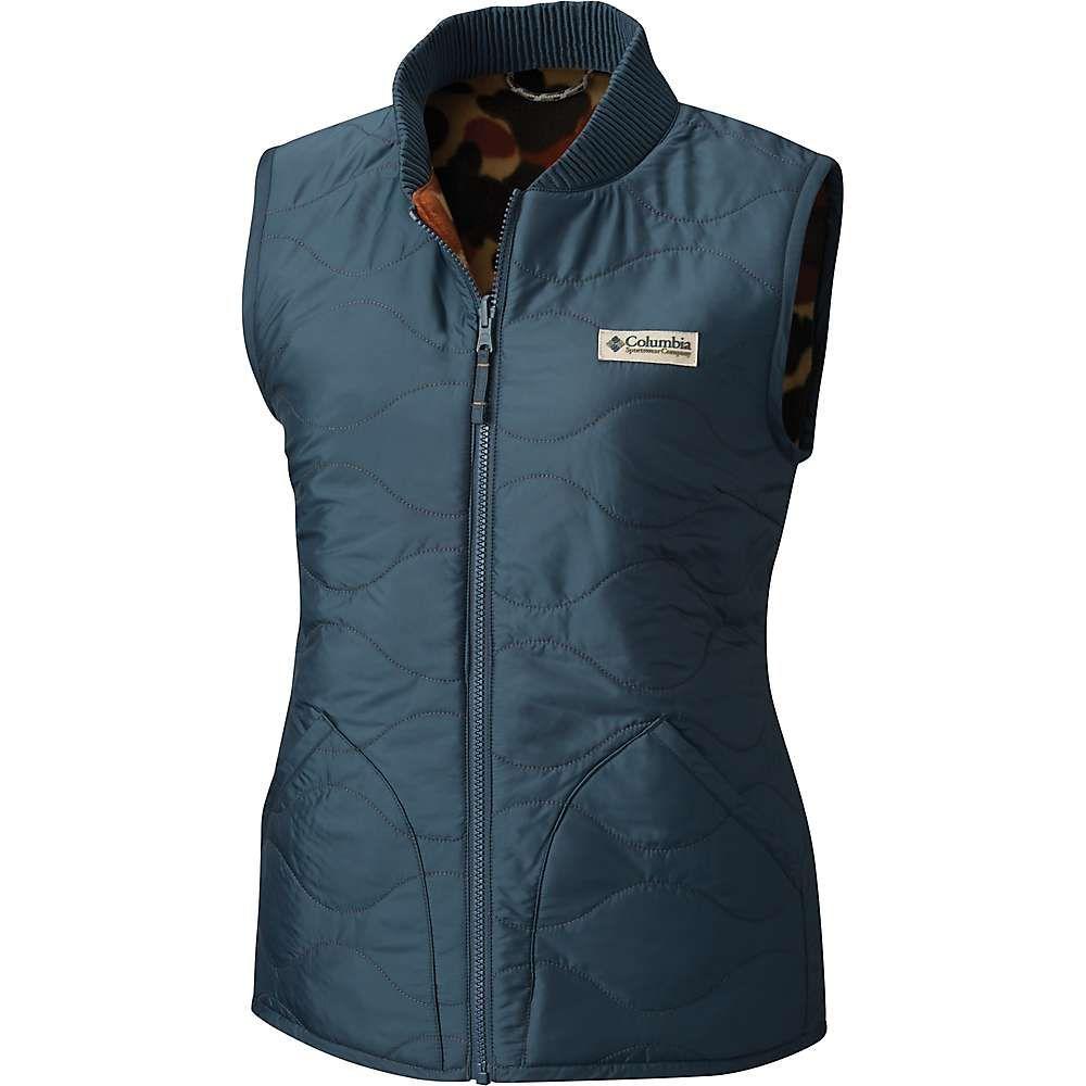 コロンビア Columbia レディース トップス ベスト・ジレ【Reversatility Vest】Mystery/Buffalo Camo