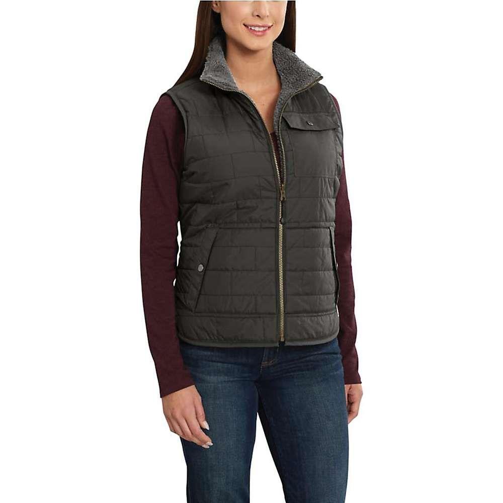 カーハート Carhartt レディース トップス ベスト・ジレ【Amoret Sherpa-Lined Vest】Peat