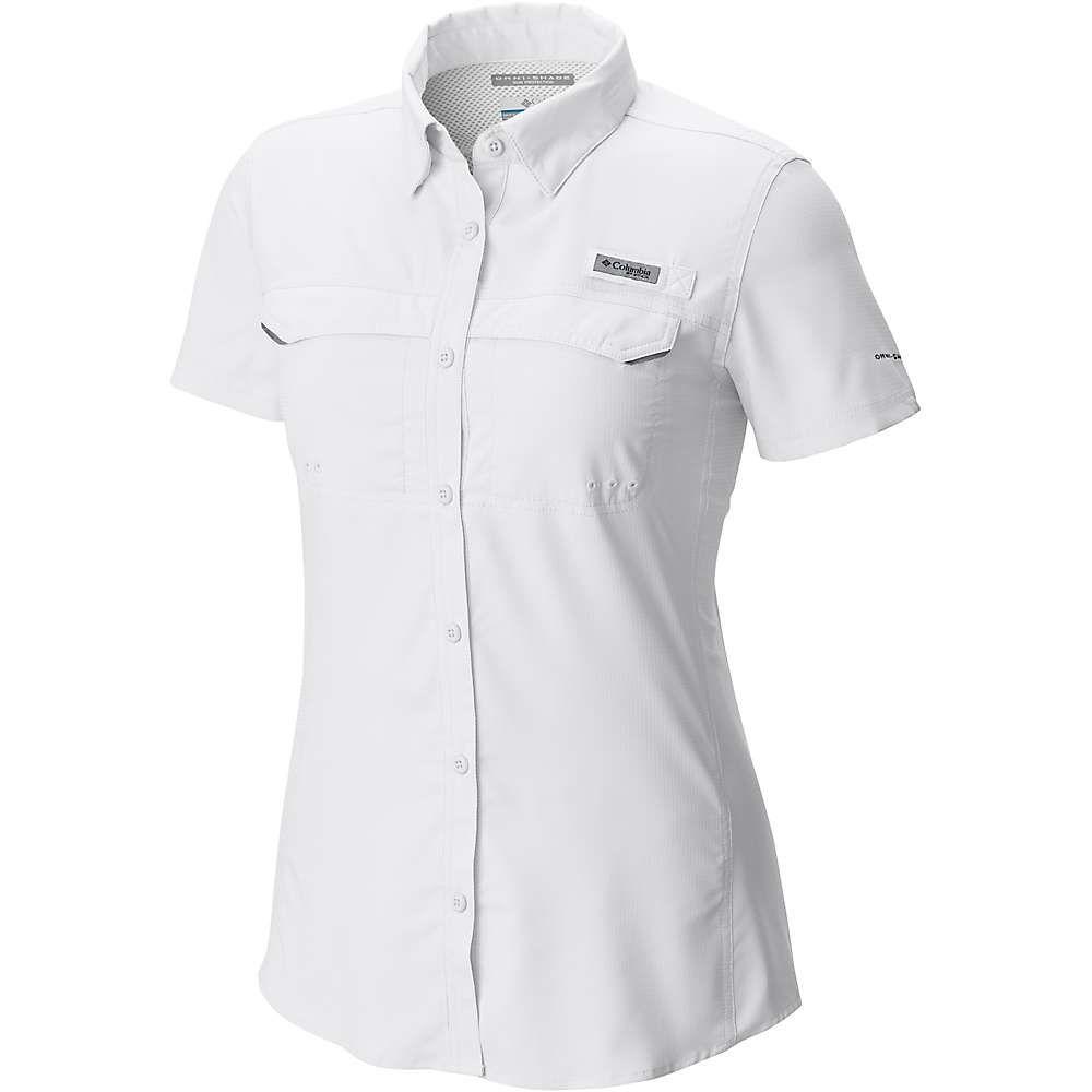大人気新作 コロンビア Shirt】White Columbia Drag レディース ハイキング・登山 トップス【Lo Drag コロンビア SS Shirt】White, クロダショウチョウ:978fbe47 --- lexloci.com.br