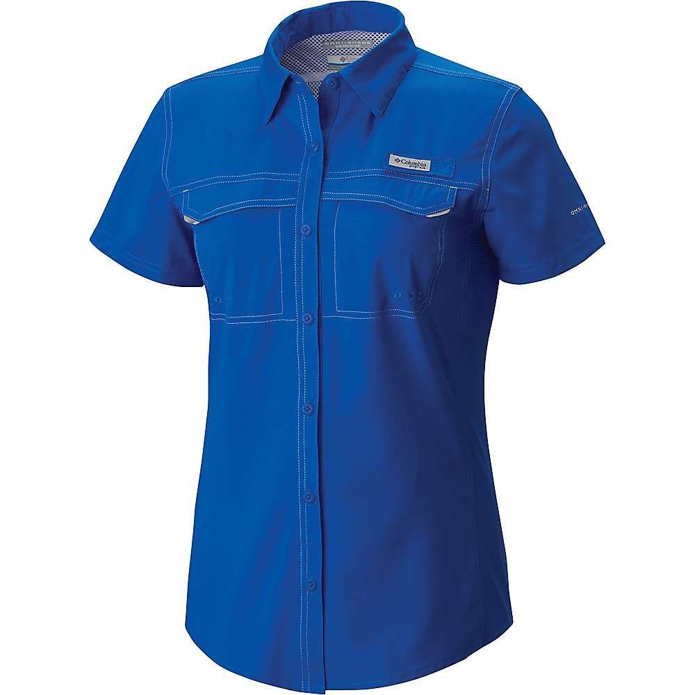 コロンビア Columbia レディース ハイキング・登山 トップス【Lo Drag SS Shirt】Blue Macaw
