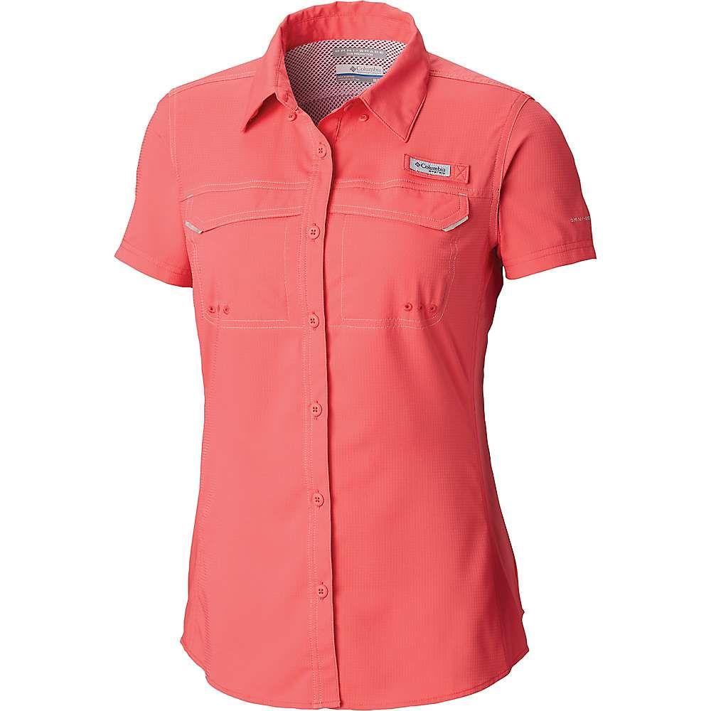 値引きする コロンビア Columbia レディース ハイキング・登山 トップス【Lo Drag Drag Columbia SS SS Shirt】Bright Geranium, みのむしふとんのワタセ:794fa1cf --- fabricadecultura.org.br
