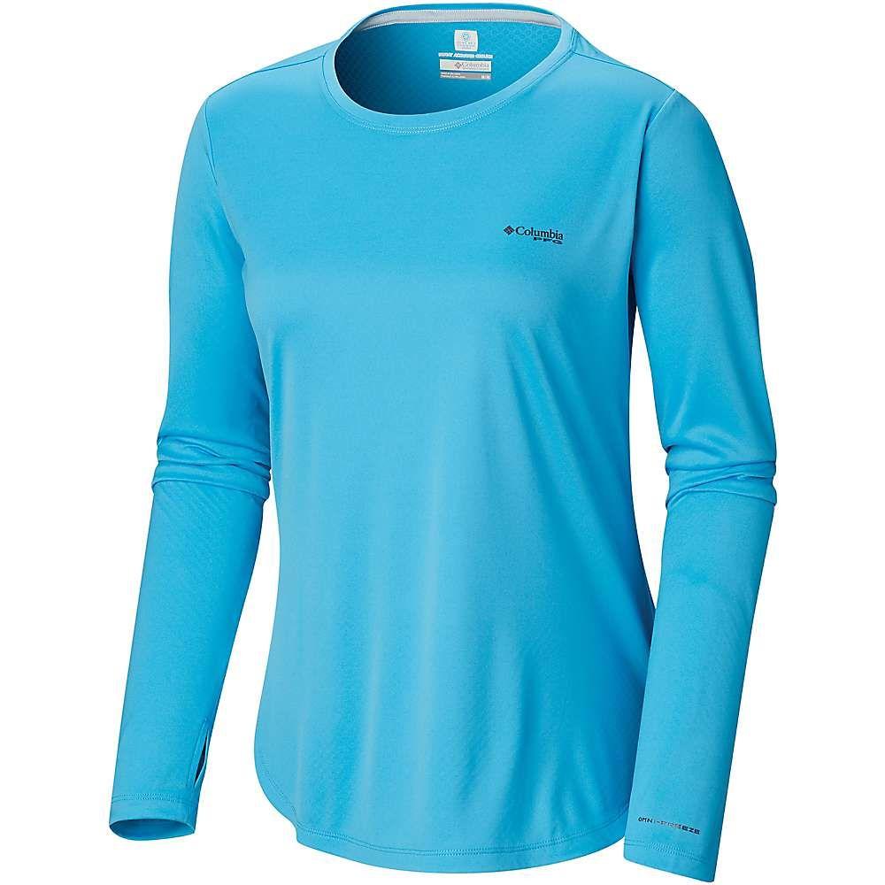 コロンビア Columbia レディース ハイキング・登山 トップス【PFG Zero LS Shirt】Riptide