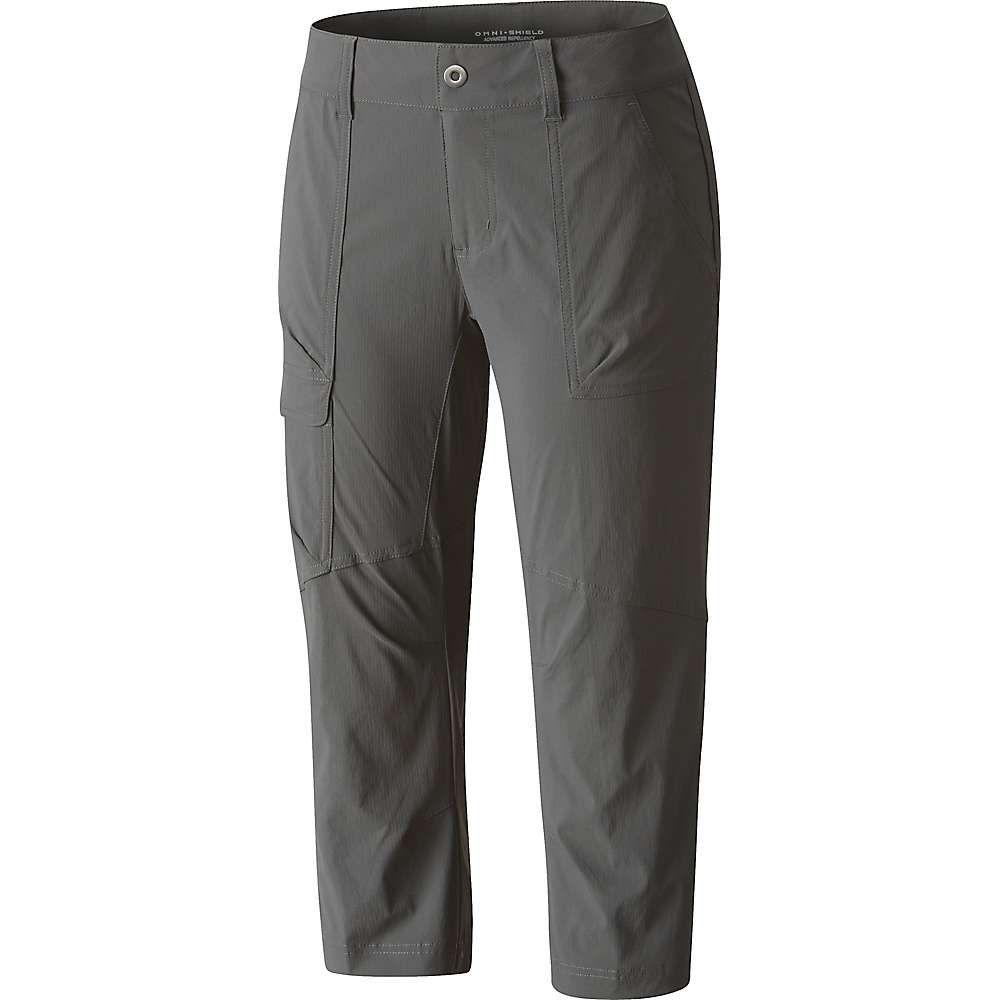 コロンビア Columbia レディース ハイキング・登山 ボトムス・パンツ【Silver Ridge Stretch II Capri】Grill