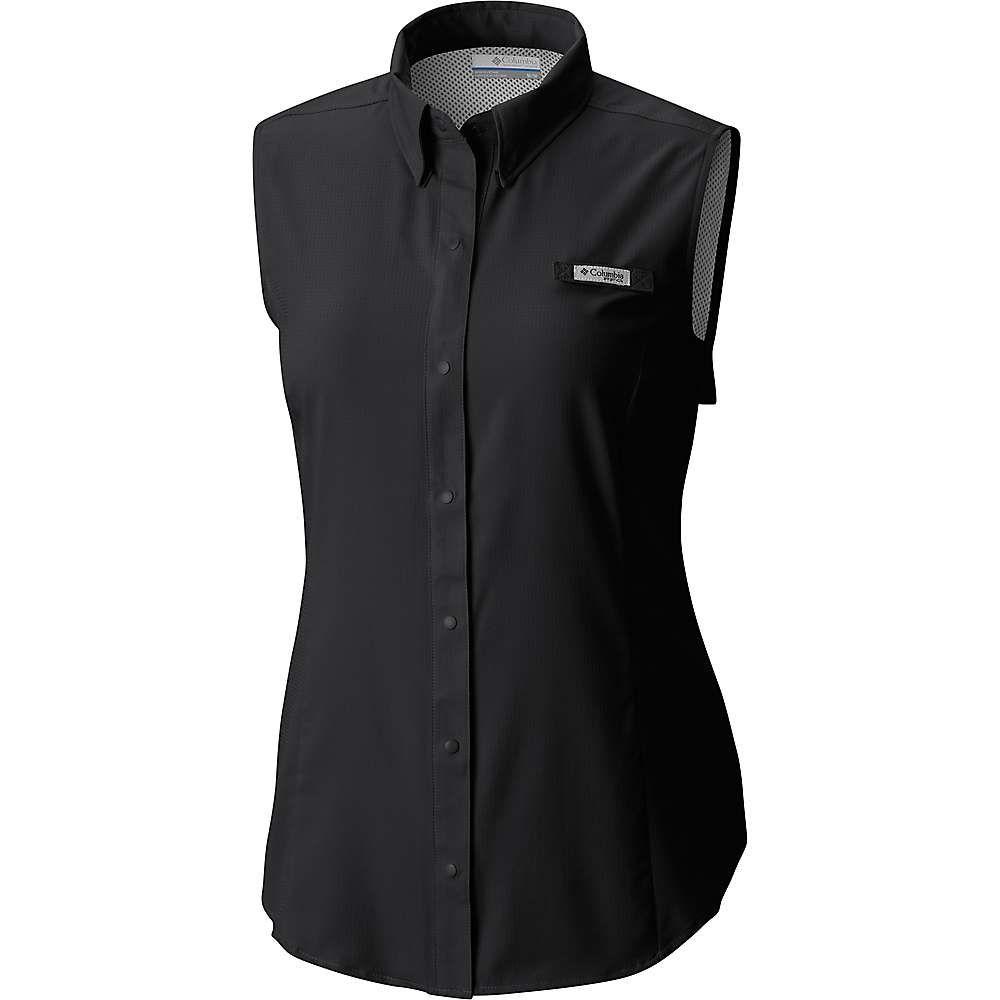 コロンビア Columbia レディース ハイキング・登山 トップス【Tamiami Sleeveless Shirt】Black