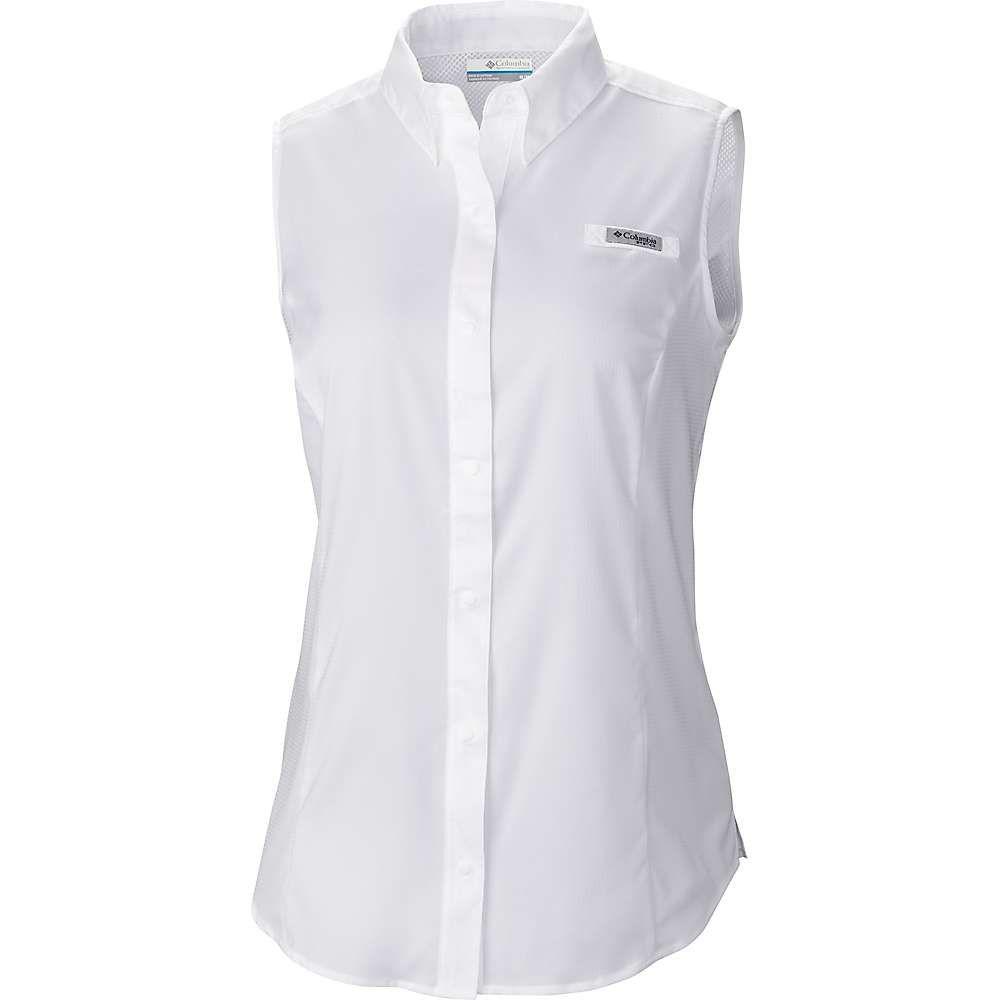 【希少!!】 コロンビア Columbia レディース レディース ハイキング Columbia・登山 トップス Sleeveless【Tamiami Sleeveless Shirt】White, ファイブ アンド テン:1dabdea8 --- clftranspo.dominiotemporario.com
