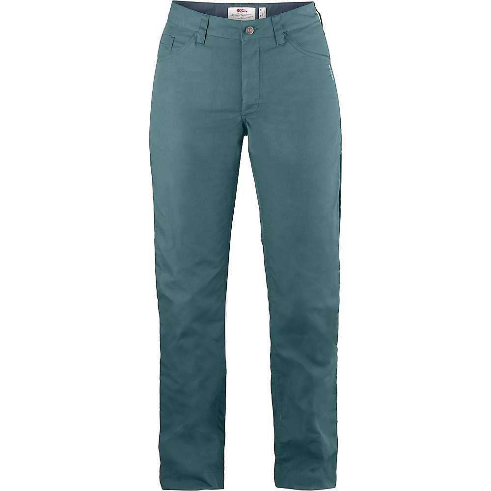 フェールラーベン Fjallraven レディース ハイキング・登山 ボトムス・パンツ【Greenland Lite Jean】Frost Green