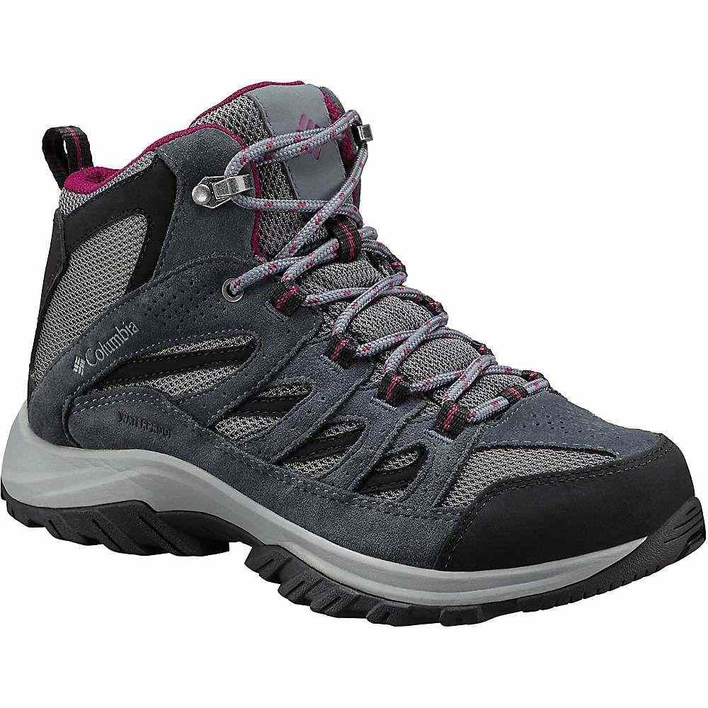 コロンビア Columbia Footwear レディース ハイキング・登山 シューズ・靴【Columbia Crestwood Mid Waterproof Boot】TI Grey Steel/Dark Raspberry