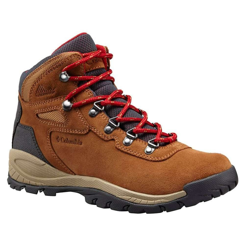 コロンビア Columbia Footwear レディース ハイキング・登山 シューズ・靴【Columbia Newton Ridge Plus WP Amped Boot】Elk/Mountain Red