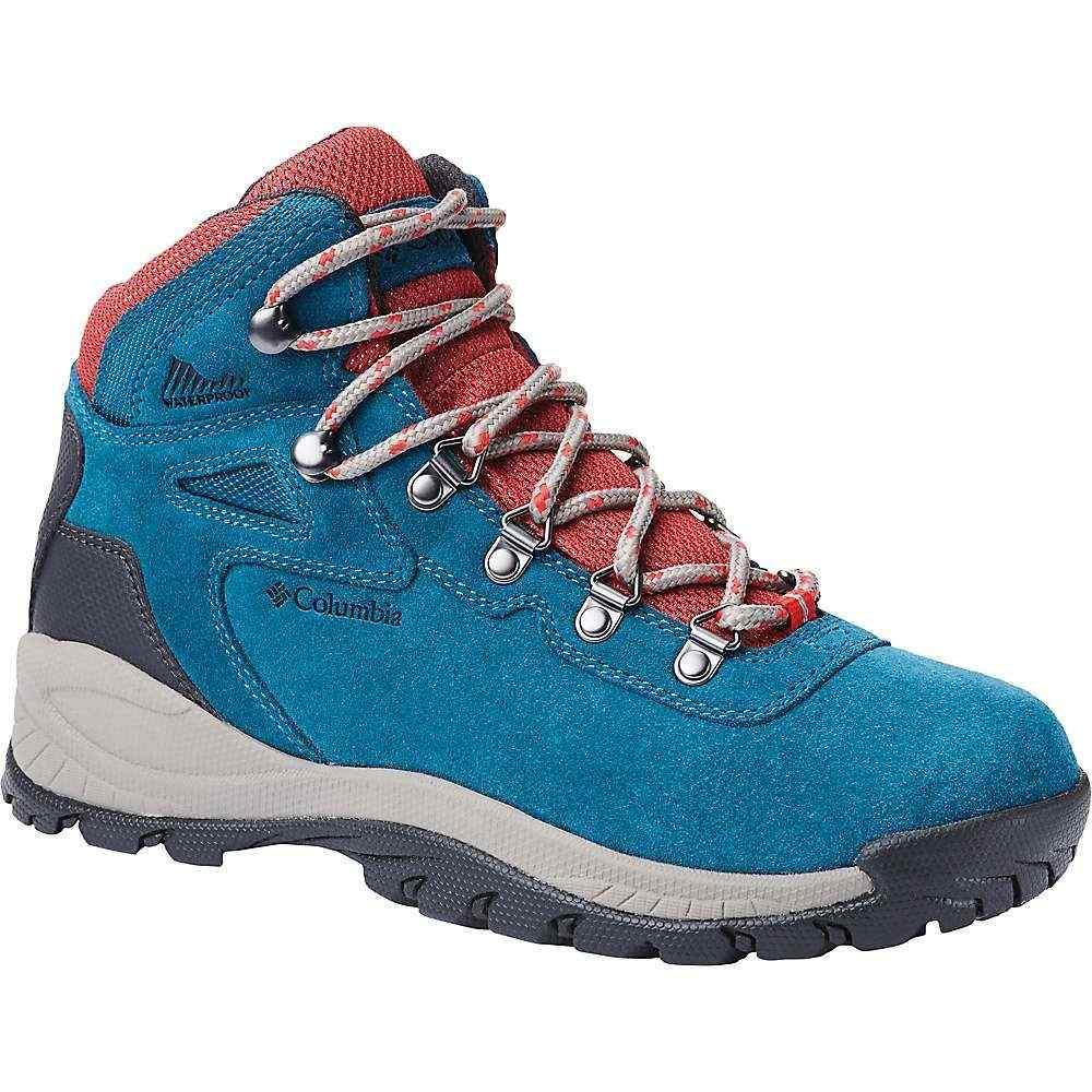 コロンビア Columbia Footwear レディース ハイキング・登山 シューズ・靴【Columbia Newton Ridge Plus WP Amped Boot】Aegean Blue/Cherrybomb