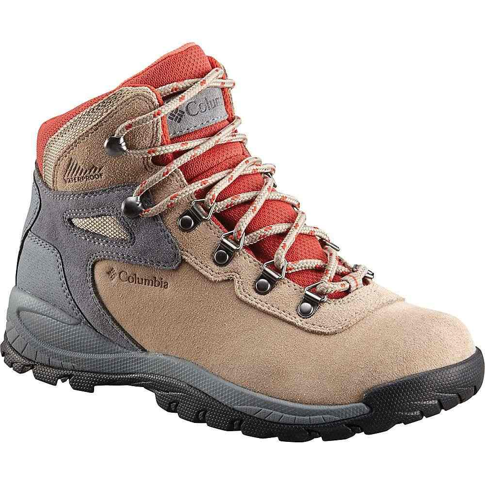 コロンビア Columbia Footwear レディース ハイキング・登山 シューズ・靴【Columbia Newton Ridge Plus WP Amped Boot】Oxford Tan/Flame
