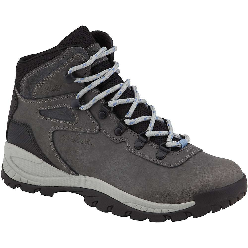 コロンビア Columbia Footwear レディース ハイキング・登山 シューズ・靴【Columbia Newton Ridge Plus Boot】Quarry/Cool Wave