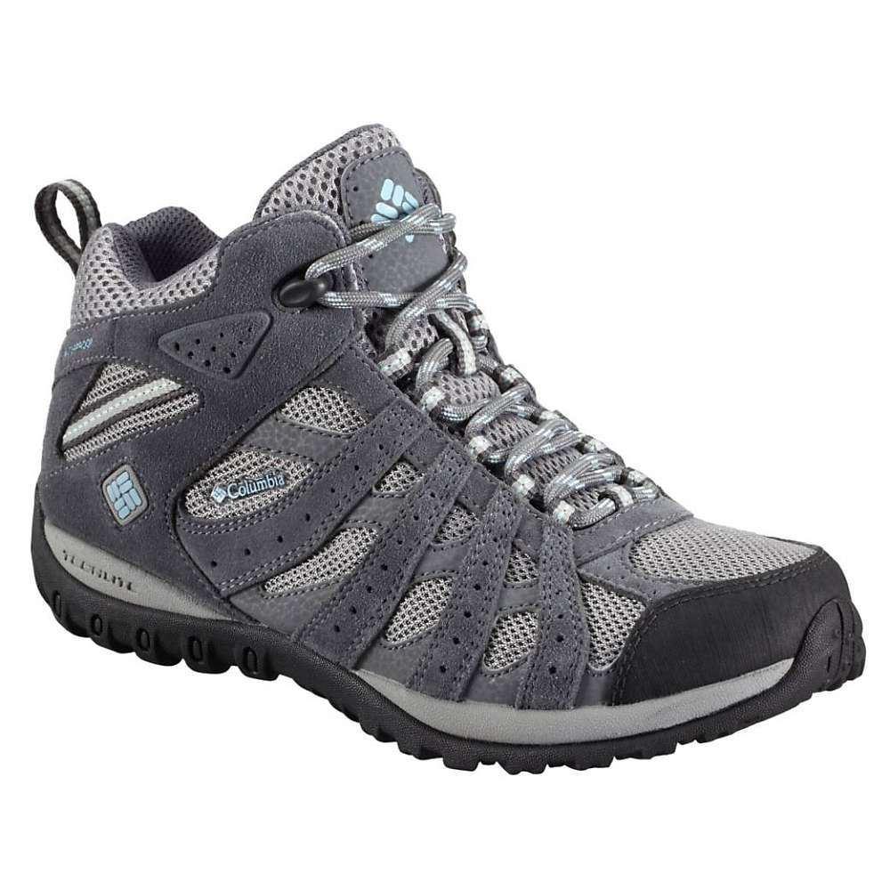 コロンビア Columbia Footwear レディース ハイキング・登山 シューズ・靴【Columbia Redmond WP Mid Boot】Light Grey/Sky Blue