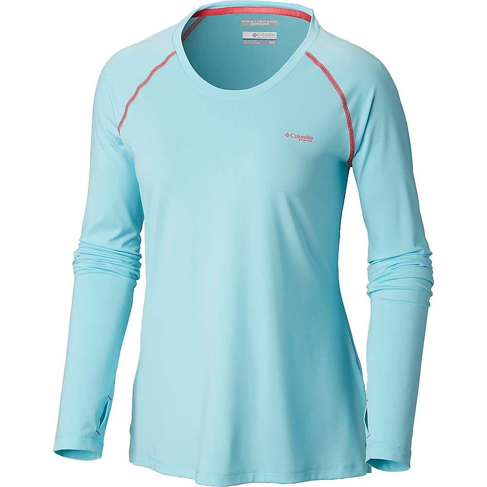 【新品】 コロンビア Columbia レディース ハイキング・登山 トップス【Tamiami Knit Columbia Heather レディース Knit LS Shirt】Coastal Blue/Bright Geranium, シブシチョウ:8f5618f8 --- canoncity.azurewebsites.net