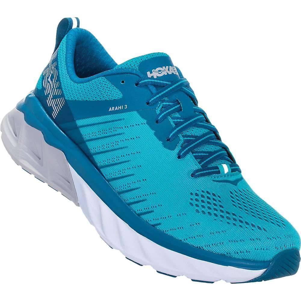 ホカ オネオネ Hoka One One レディース ランニング・ウォーキング シューズ・靴【Arahi 3 Shoe】Scuba Blue/Seaport