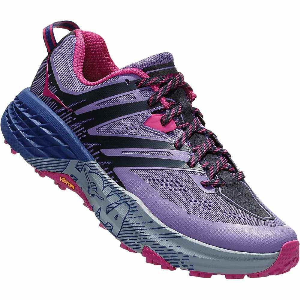 ホカ オネオネ Hoka One One レディース ランニング・ウォーキング シューズ・靴【Speedgoat 3 Shoe】Paisley Purple/Ebony