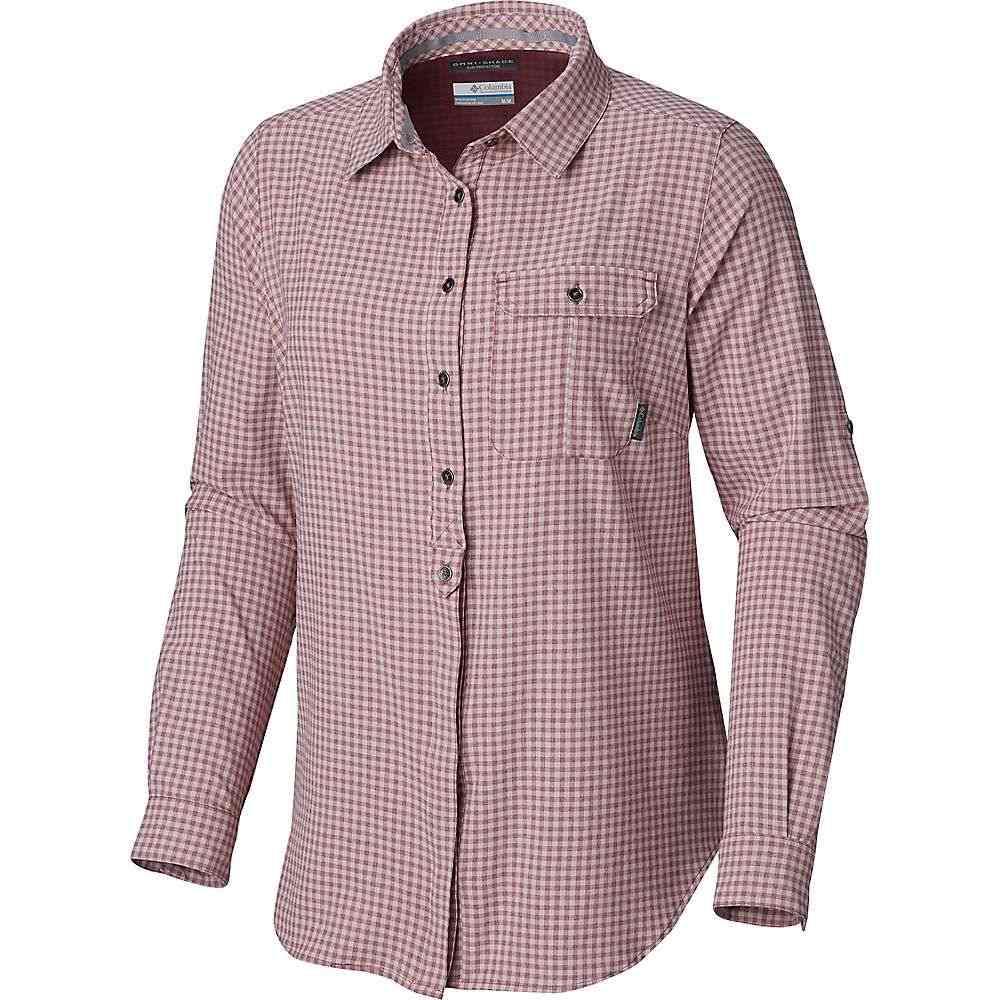 コロンビア Columbia レディース ハイキング・登山 トップス【Bryce Canyon Stretch LS Shirt】Antique Mauve Gingham
