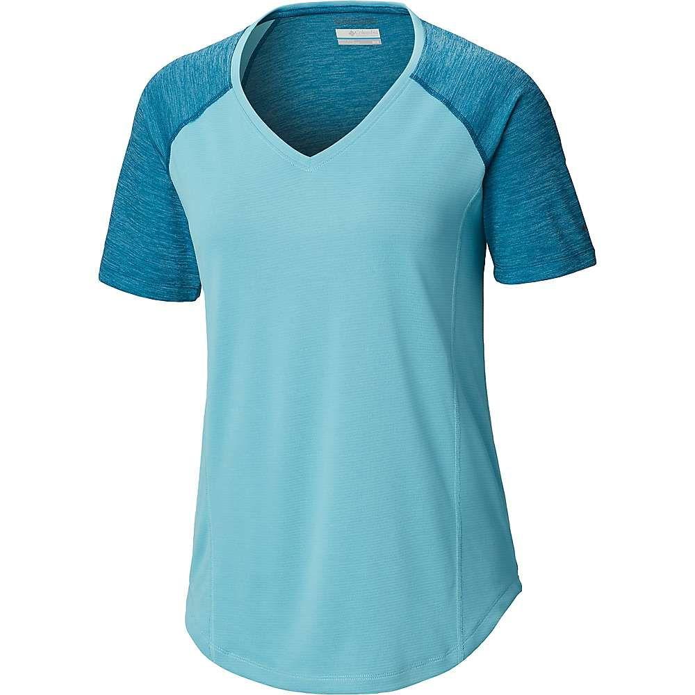 コロンビア Columbia レディース ハイキング・登山 トップス【Bryce Peak SS Shirt】Siberia Heather/Clear Blue