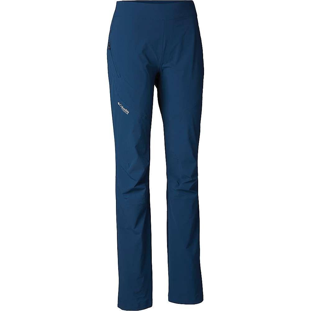 コロンビア Columbia レディース ハイキング・登山 ボトムス・パンツ【Featherweight Hike Pant】Petrol Blue