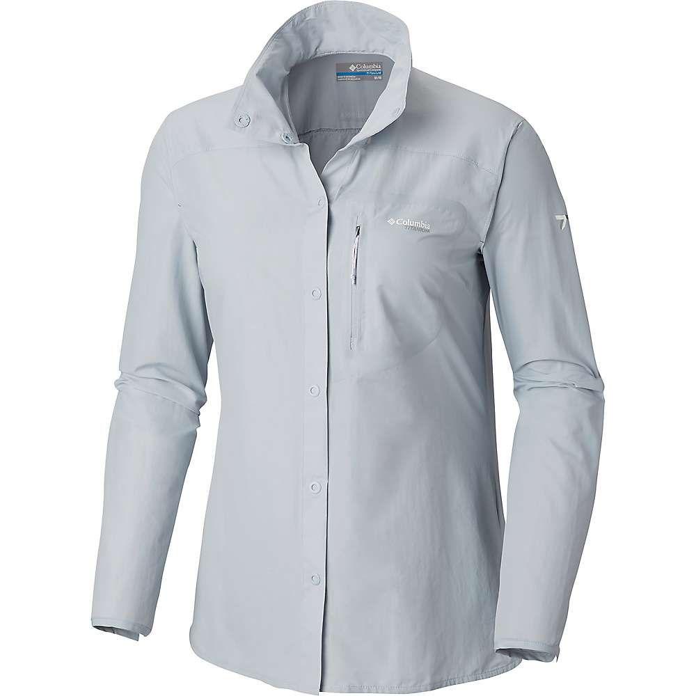 コロンビア Columbia レディース ハイキング・登山 トップス【Featherweight Hike II LS Shirt】Cirrus Grey