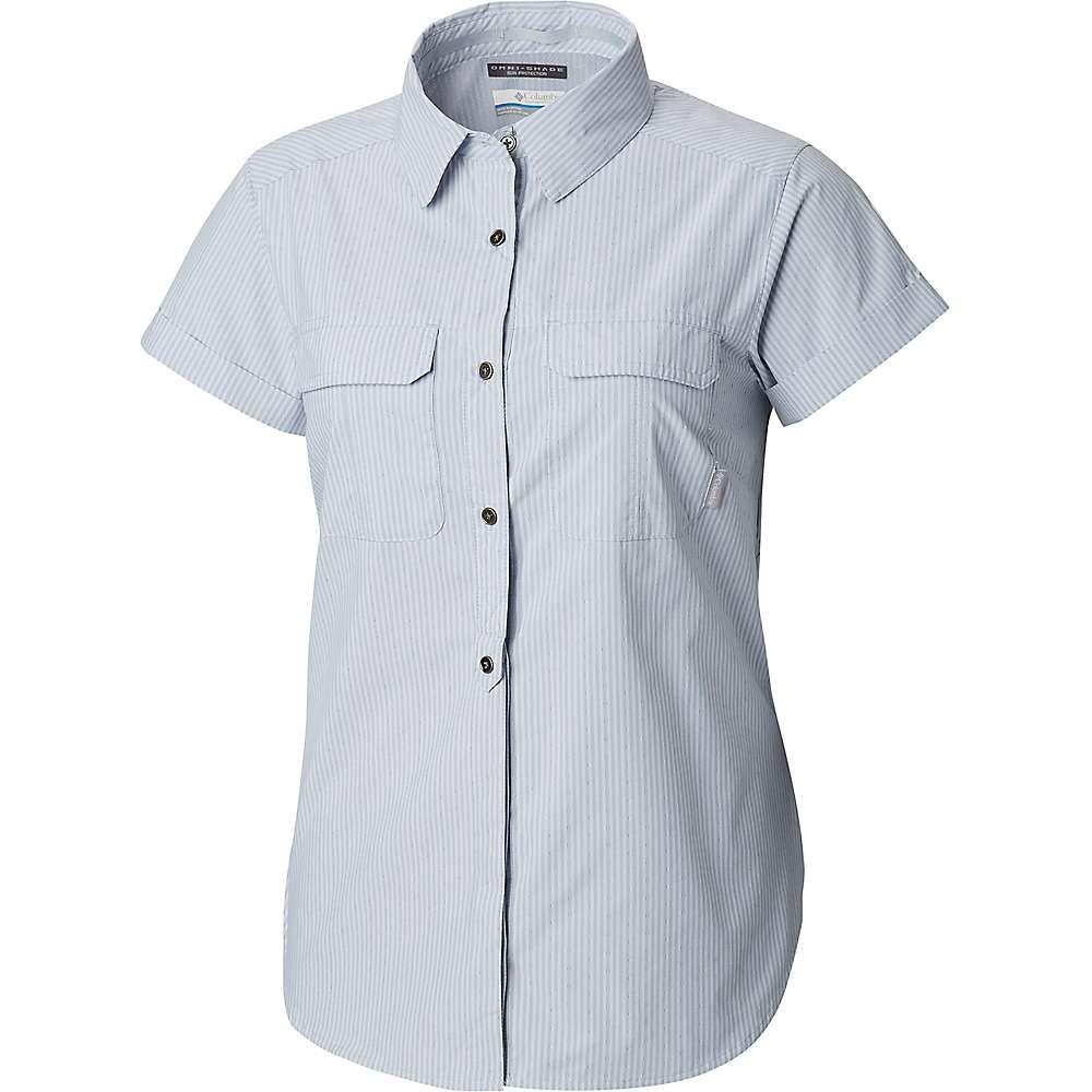 コロンビア Columbia レディース ハイキング・登山 トップス【Pilsner Peak Novelty SS Shirt】Cirrus Grey Stripe