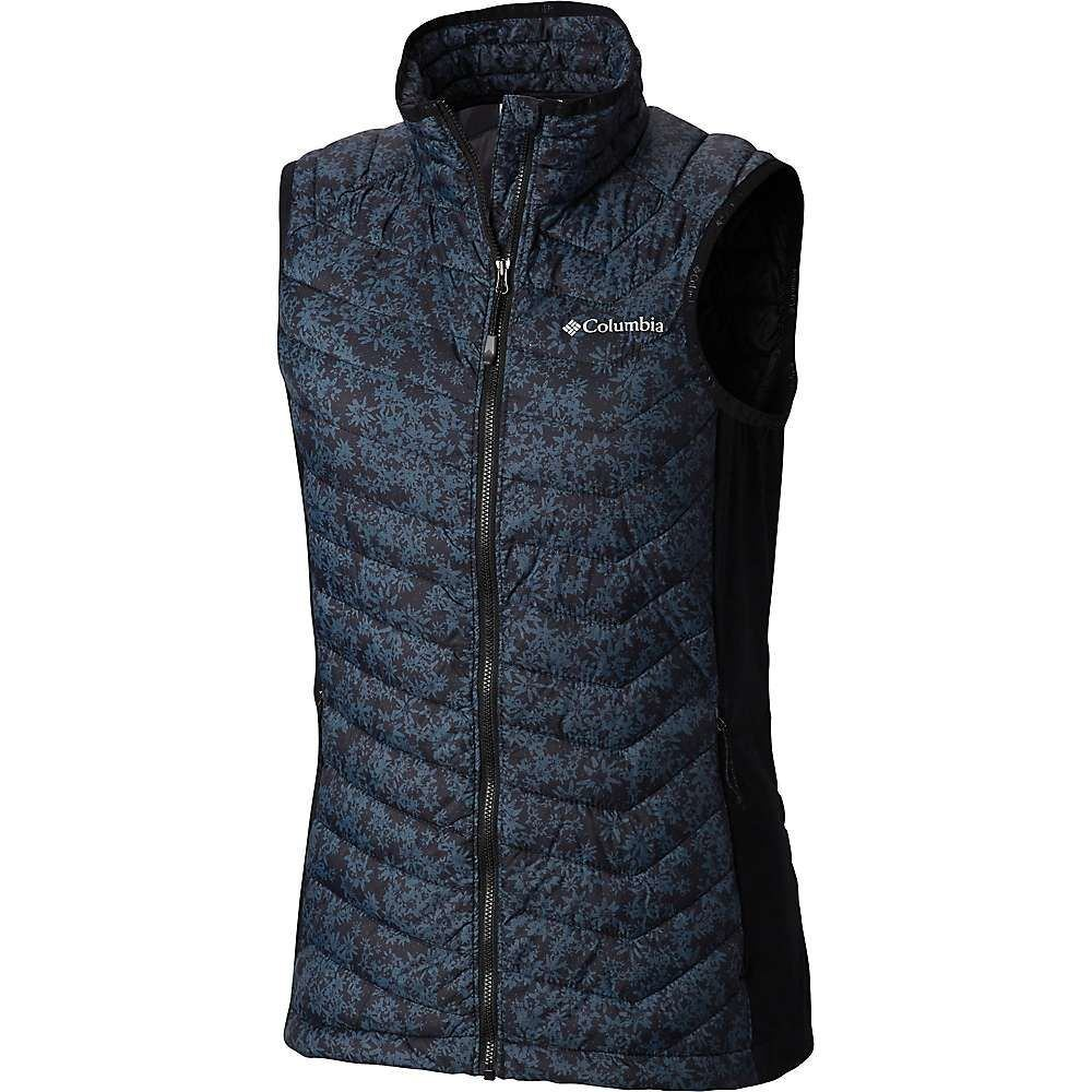 コロンビア Columbia レディース トップス ベスト・ジレ【Powder Pass Vest】Black Edelweiss Print