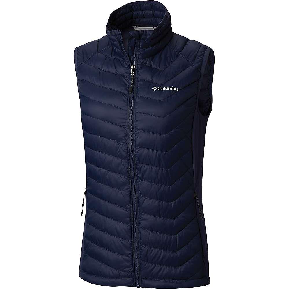 コロンビア Columbia レディース トップス ベスト・ジレ【Powder Pass Vest】Nocturnal