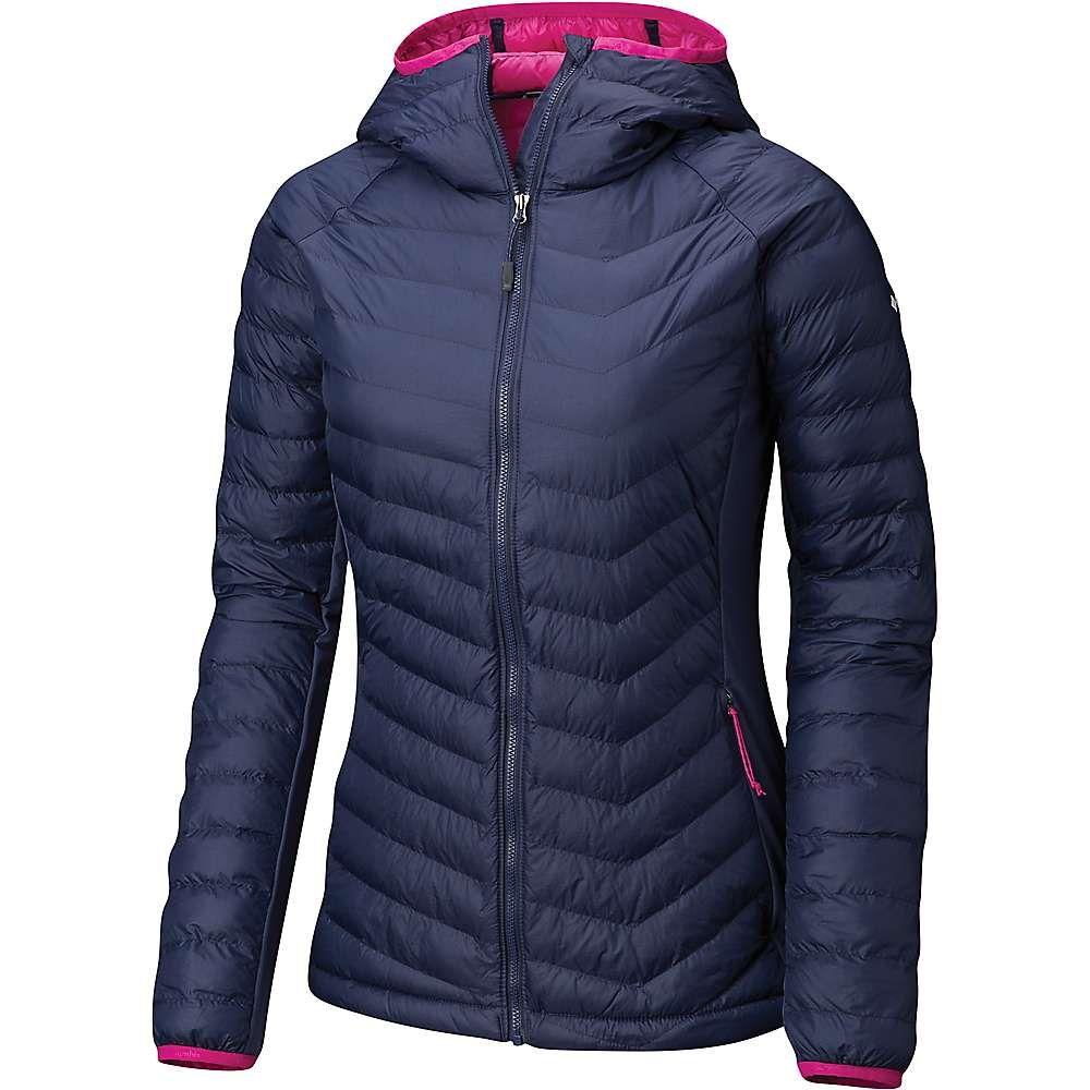 コロンビア Columbia レディース スキー・スノーボード アウター【Powder Pass Hooded Jacket】Nocturnal