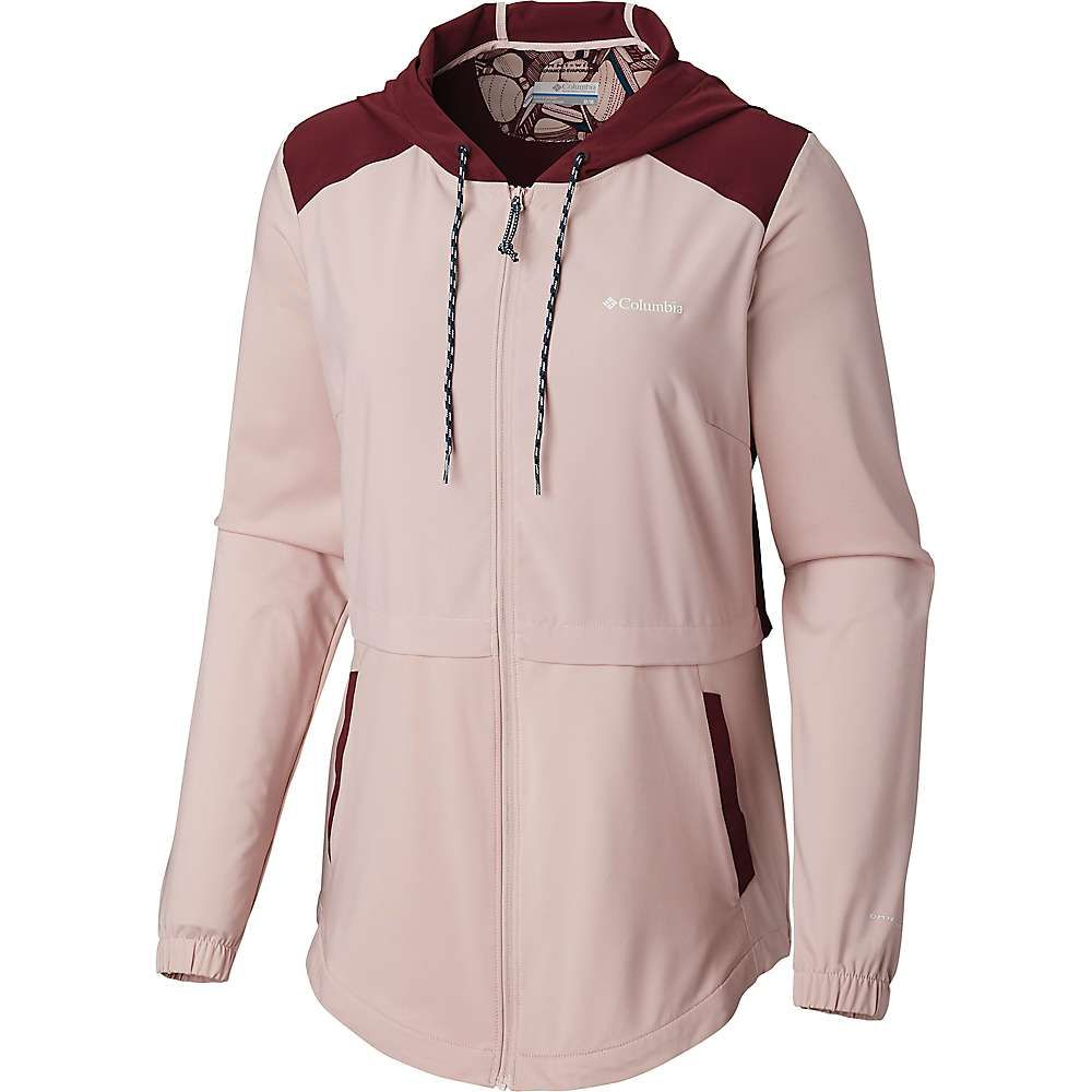 コロンビア Columbia レディース ハイキング・登山 トップス【Sandy Trail Full Zip Hoodie】Mineral Pink/Deep Madeira/Min Pink Hth