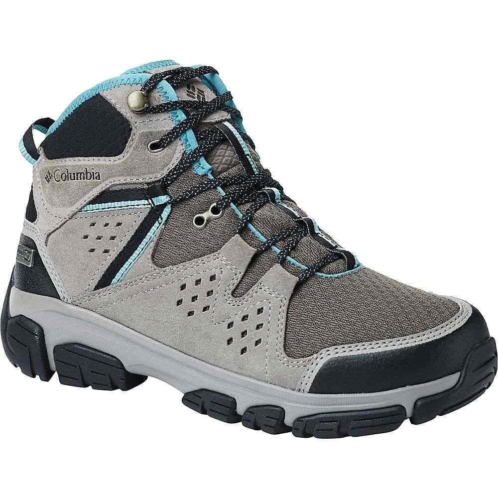 コロンビア Columbia Footwear レディース ハイキング・登山 シューズ・靴【Columbia Isoterra Mid OutDry Shoe】Mud/Teal