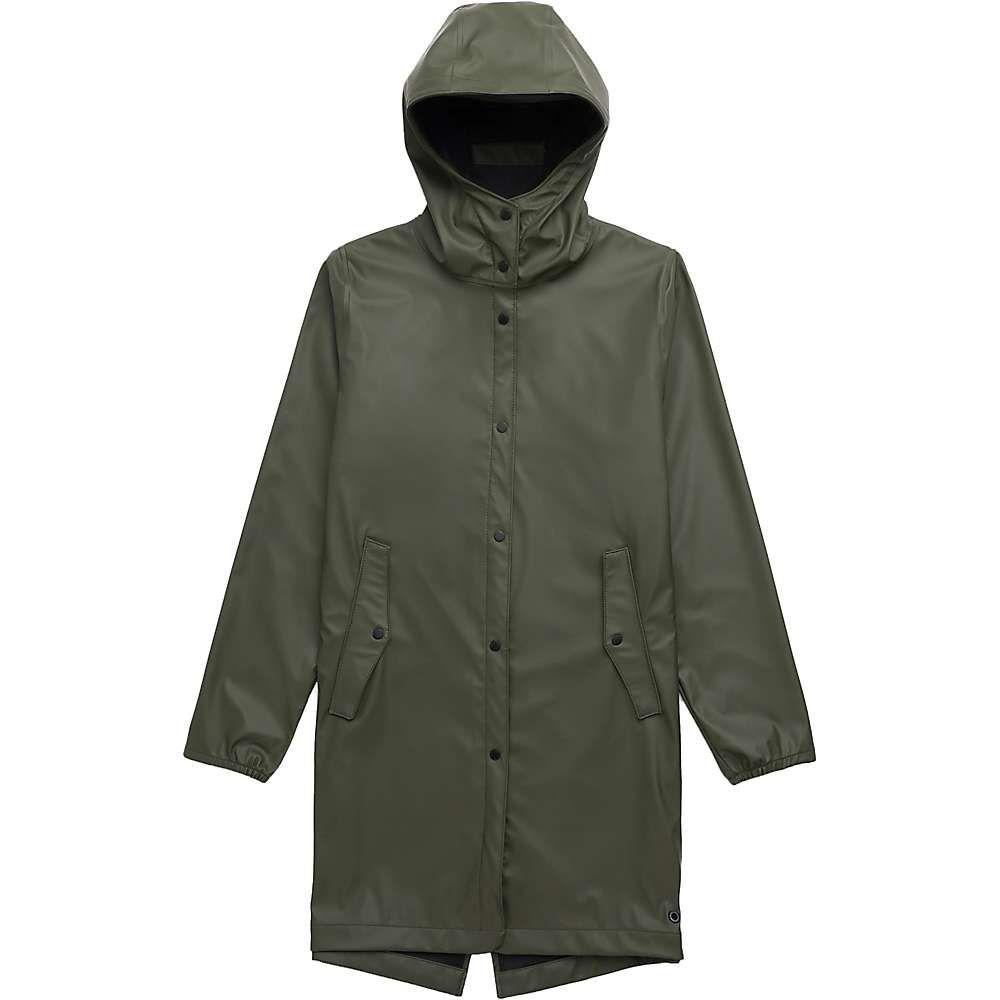 ハーシェル サプライ Herschel Supply Co レディース アウター レインコート【Fishtail Rain Jacket】Dark Olive