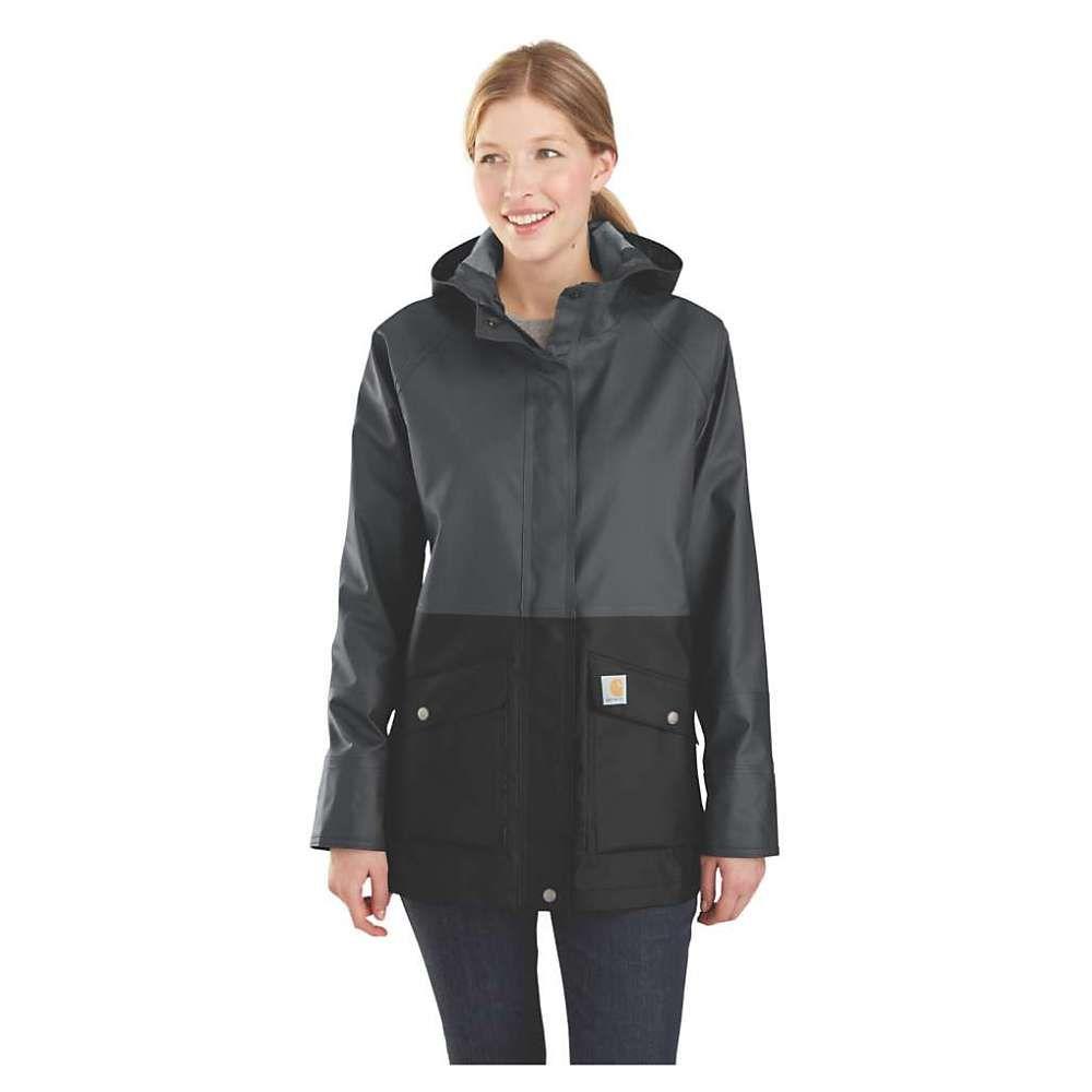 カーハート Carhartt レディース アウター レインコート【Waterproof Rainstorm Coat】Black