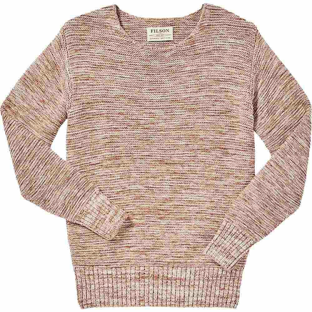 フィルソン Filson レディース ハイキング・登山 トップス【Lake Quinault Crewneck Sweater】Natural Clay Melange