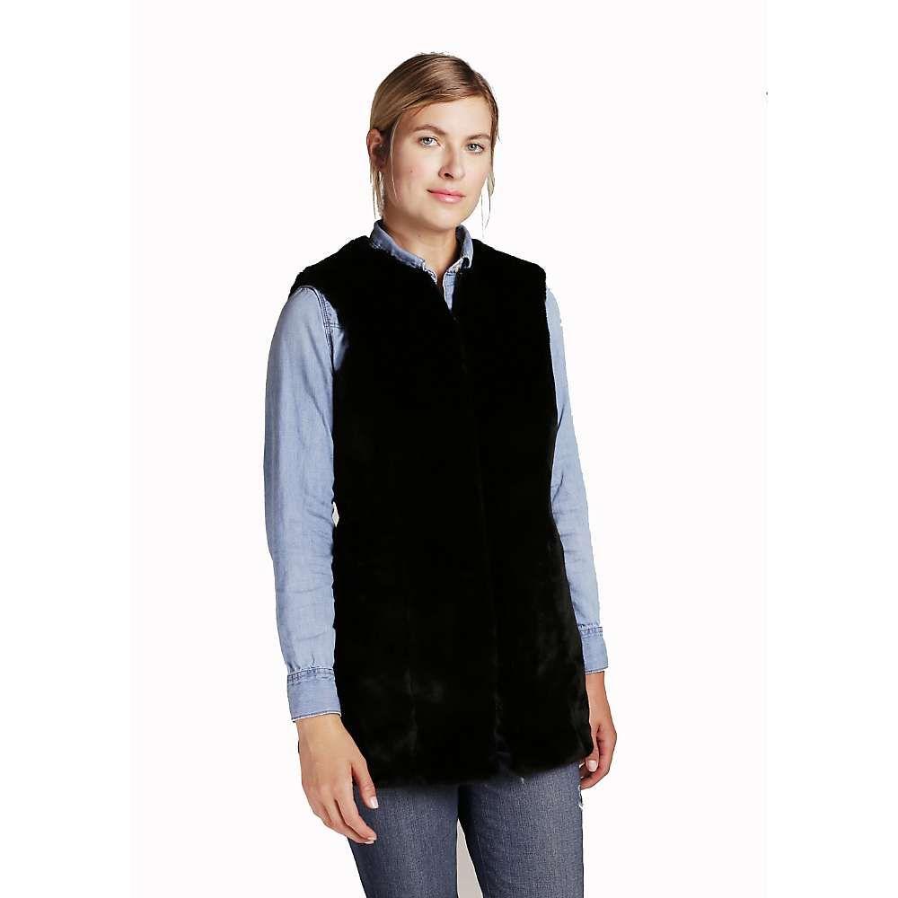 フェイラー Feller レディース トップス ベスト・ジレ【Fitted Faux Fur Vest Liner】Black