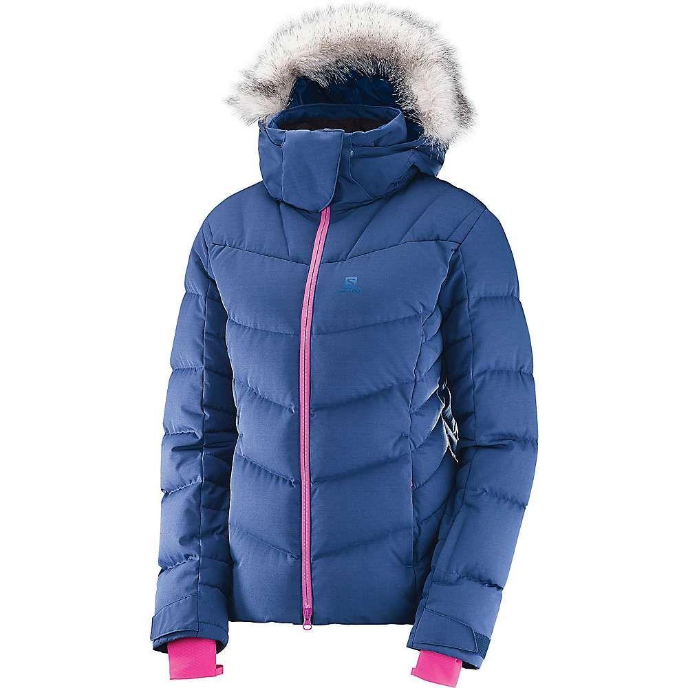 サロモン Salomon レディース スキー・スノーボード アウター【Icetown Jacket】Medieval Blue Heather