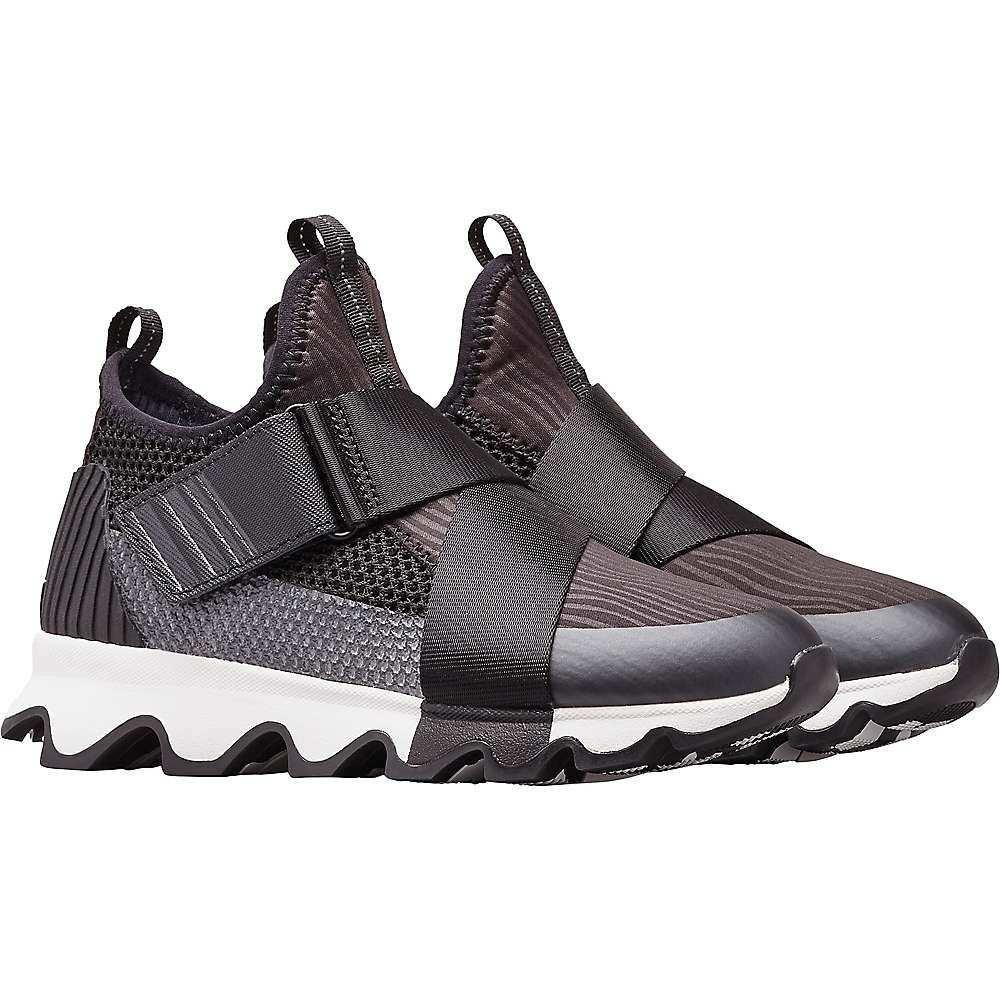 ソレル Sorel レディース ランニング・ウォーキング シューズ・靴【Kinetic Sneak Shoe】Black/White