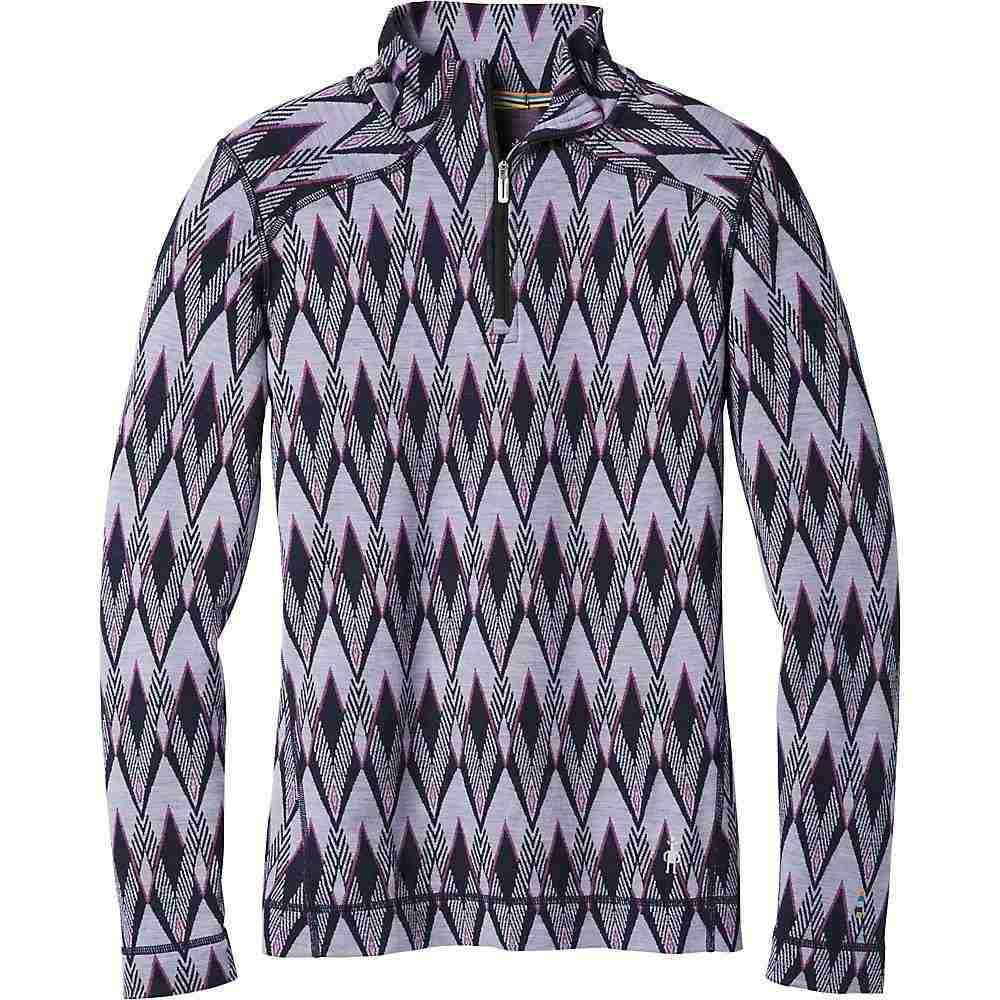 スマートウール Smartwool レディース ハイキング・登山 トップス【Merino 250 Baselayer 1/4 Zip Top】Purple Mist Pattern