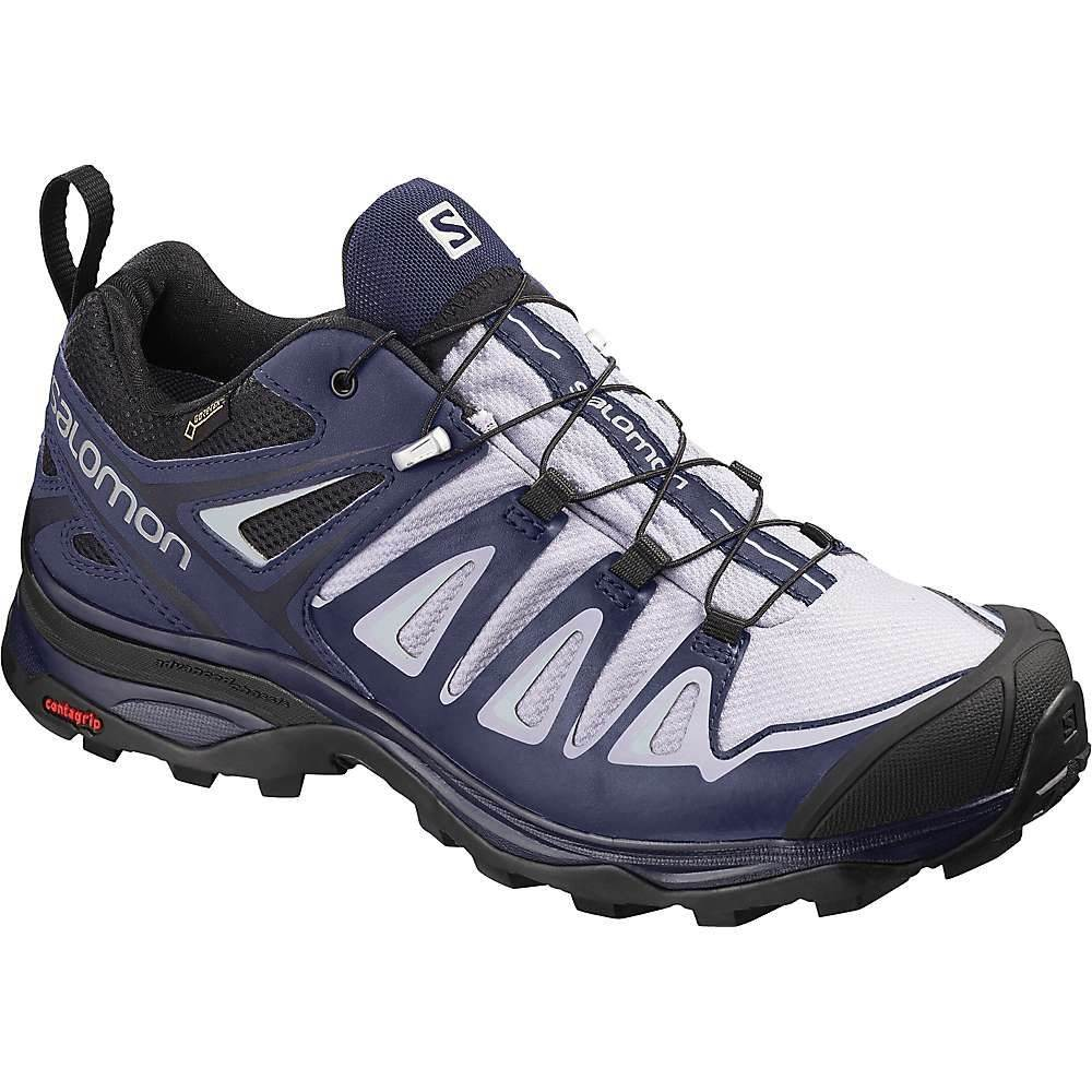 サロモン Salomon レディース ハイキング・登山 シューズ・靴【X Ultra 3 GTX Shoe】Languid Lavender/Crown Blue/Navy Blazer