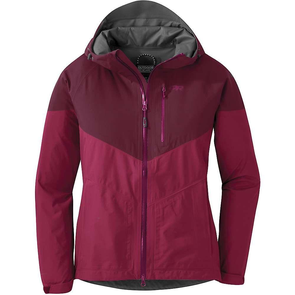 アウトドアリサーチ Outdoor Research レディース アウター レインコート【Aspire Jacket】Sangria/Garnet