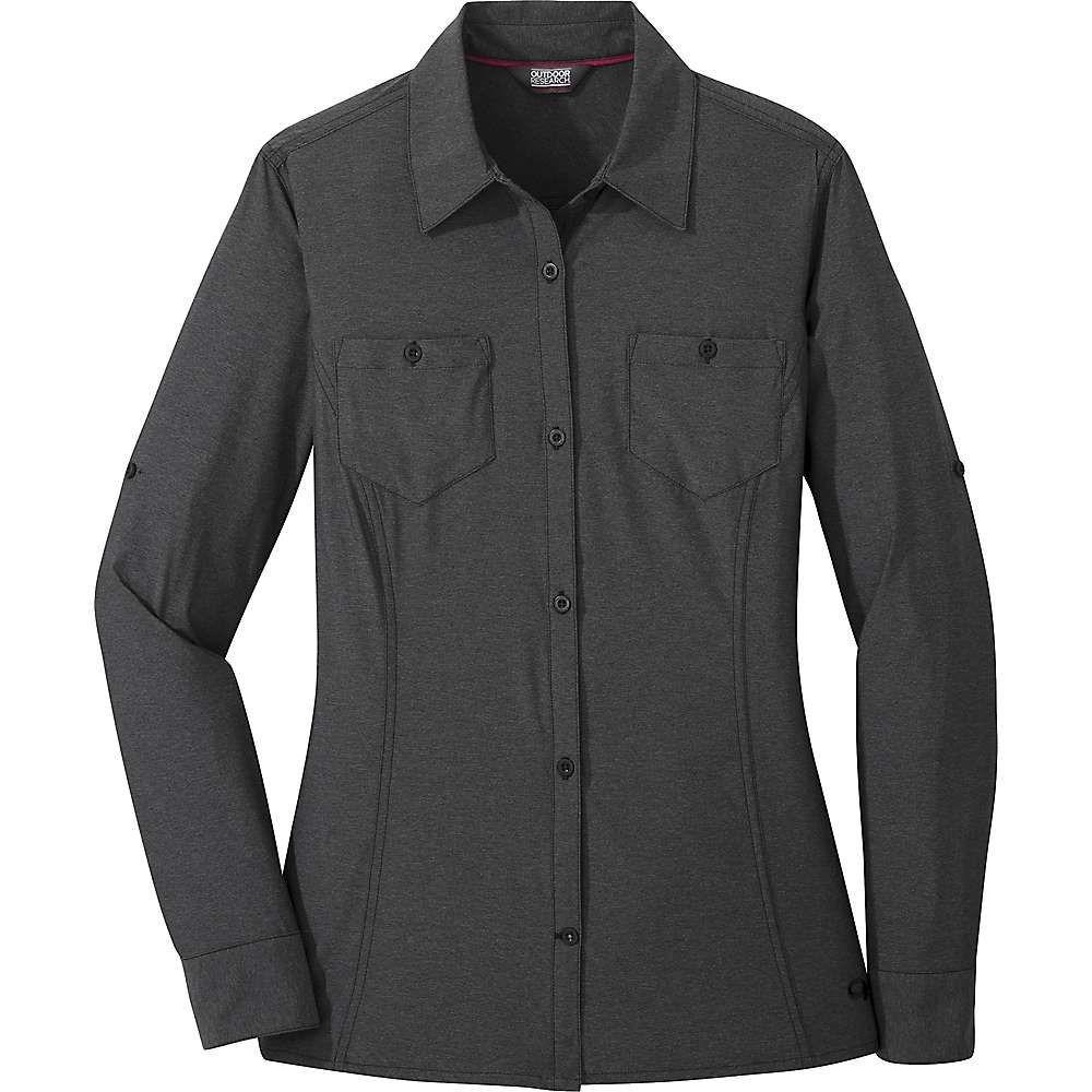 アウトドアリサーチ Outdoor Research レディース ハイキング・登山 トップス【Wayward LS Shirt】Black