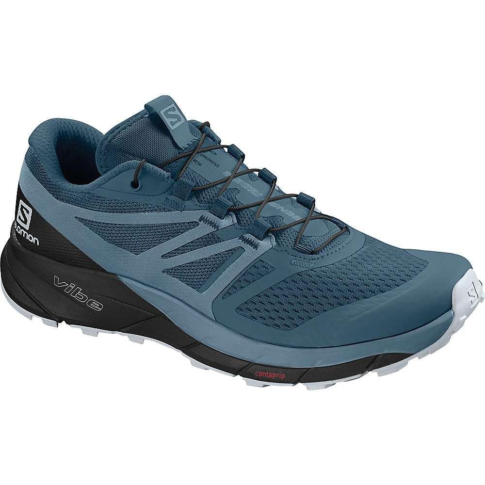 サロモン Salomon レディース ランニング・ウォーキング シューズ・靴【Sense Ride 2 Shoe】Mallard Blue/Blue Stone/Black
